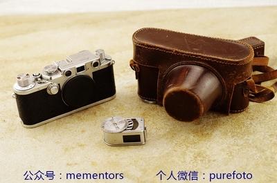 【真水无香】徕卡Leica lllf D.R.P 红盘版 旁轴相机