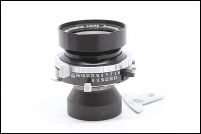 施耐德schneider Super angulon 75/8  4X5大画幅座机镜头  带刀