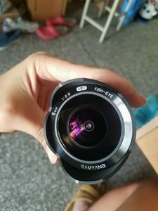 富士XF口鱼眼,三阳8mm f2.8,箱说全几乎全新