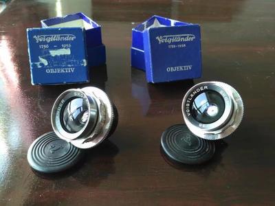 福伦达35MM F3.4 诸神的戒指 珠戒 完美成色带包装盒 0.4米版