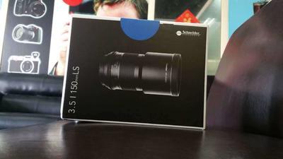 施耐德 150mm f/4 HFT PQS镜头(全新清仓)谢绝议价