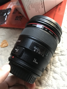 佳能 EF 24mm f/1.4L II USM 京东购入 送B+W