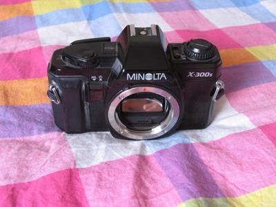 美能达X300S胶片单反相机