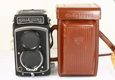 禄来 rolleicord IV K3D 德产双反相机 120胶片 施耐德镜头