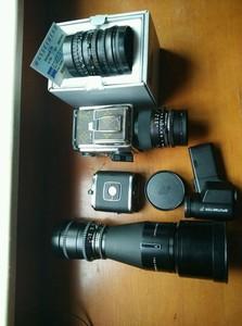 哈苏 hasselblad 503cxi,CFi50 F4,CF150 F4,C350 F5.6