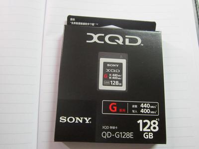 全新国行正品索尼原装128G XQD卡G128E特价发售中