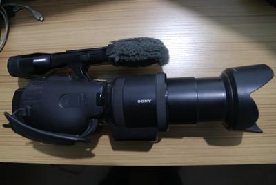 索尼 NEX-VG30EH+18-200镜头