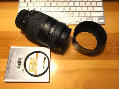 腾龙 AF70-300 f/4-5.6 Di LD Macro (A17)尼康口 送Hoya UV镜