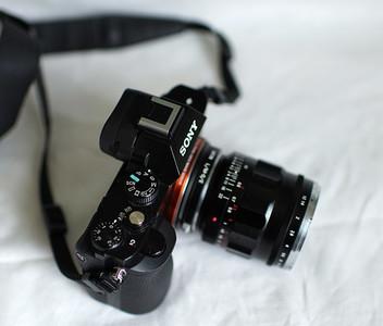 近全新福伦达VM35mm f/1.2 二代