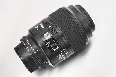 尼康 nikon 二手 闲置 105mm f2.8d 微距 定焦镜头