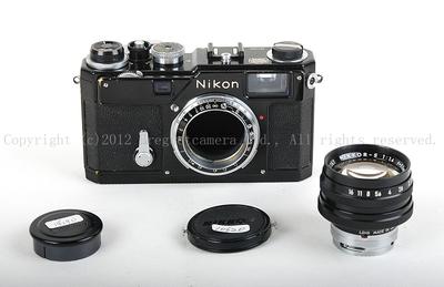 特价Nikon S3 +50 1.4奥林匹克纪念版1964原装黑漆套机HK8312