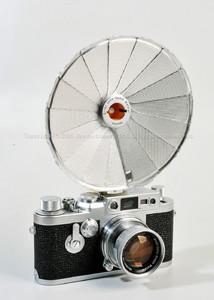 【未使用收藏品】leica/徕卡 旧式伞形闪光 带包装#32140b