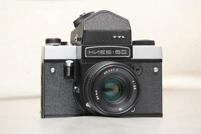 自用成色不错基辅60 6×6 120中画幅胶片相机