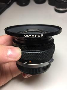 Olympus 奥林巴斯 广角牛头 一头难寻 18mm F3.5 可转接A7、NEX