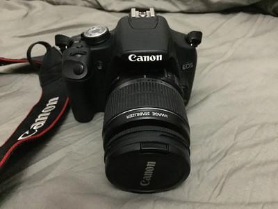9新 佳能 500D套机转让加送75-300mm镜头