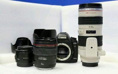 佳能 5D Mark II+95新原厂手柄+50mmF1.8二代小痰盂