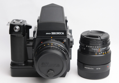 勃朗妮卡 SQ-AM 6X6 中画幅胶片相机双头套机 【天津福润相机行】
