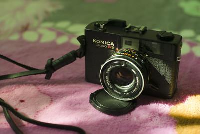 经典旁轴胶片机konica auto s3