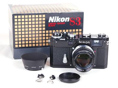 【全新】NIKON/尼康 S3+50/1.4黑漆复刻限量版套机 #jp17589