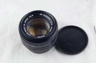 近新的理光 50 1.4镜头