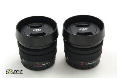 卖两只全新大疆DJI 15/1.7同松下 LEICA 15/1.7 (BG01140001)