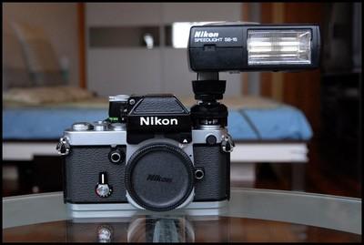 Nikon F2A+SB-15 闪灯,实用手动机王!