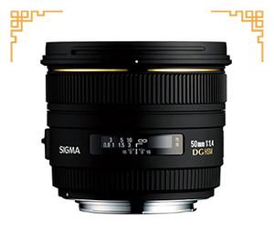 98新 适马 50mm f/1.4 EX DG HSM(佳能卡口)