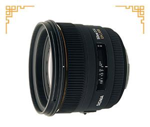 95新 适马 50mm f/1.4 EX DG HSM(佳能卡口)