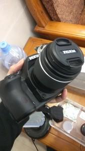 1038快门数95新宾得k50单反双防水镜头DAL18-55mm、DAL50-200mm