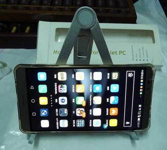 铜制新的平板电脑或者手机用的靠背式微型三脚架