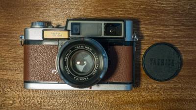 雅西卡 Yashica 35 YL 1.8 大光圈 复古 老相机