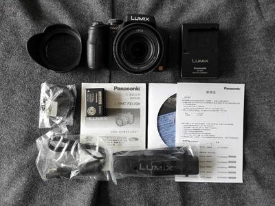 松下FZ47长焦相机全套包装配件99.99新包顺丰卖!