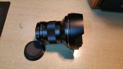 蔡司Zeiss D21/2.8 ZF.2镜头,完美改PK口,ZK停产的最佳选择