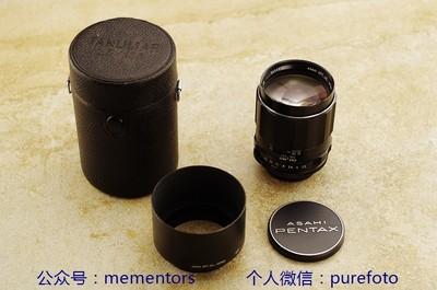 ~【真水无香】宾得PENTAX S-M-C TAKUMAR 135/2.5 人像镜头