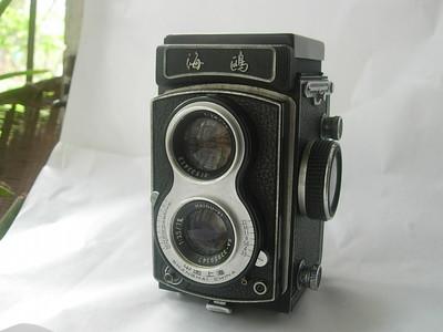 很新海鸥4A双反相机,老版白脸,收藏使用