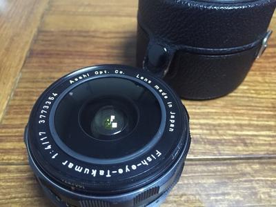 takumar fish eye 17mm f4