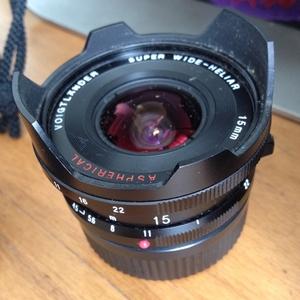 Voigtlander Super-Wide-Heliar 15mm f4.5 ASPH