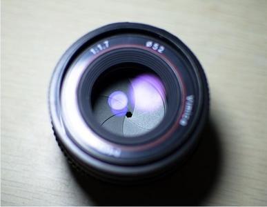 50mm定焦 老镜头 F1.4 夜景大光圈