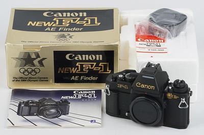 全新 佳能新F1 Canon New F-1 AE 1984年洛杉矶奥运会纪念珍藏版