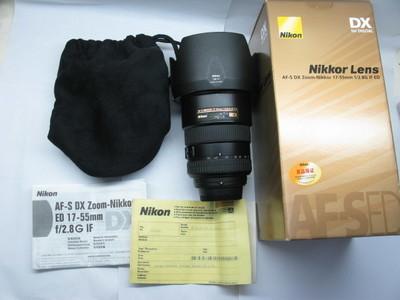 95新国行带包装尼康 AF-S 17-55mm f/2.8G ED