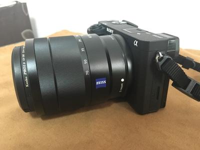 索尼 a6300 机身+蔡司 ZEISS SEL1670Z OSS镜 亏本转让!