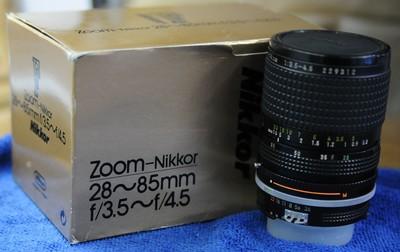 Nikon(尼康)28-85mm F/1:3.5-4.5