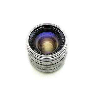 日本产 雅西卡 45/1.4大光圈旁轴镜头 已改E卡口