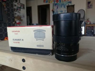 徕卡R135 2.8 镜片干净 成色看图,红点丢失,有原厂UV,原包装