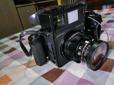 玛米亚universal新闻机+100/2.8镜头+6x9后背 极新成色