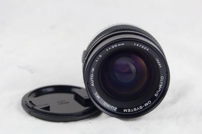 奥林巴斯OM 35 F2 镜头 好成色