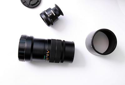 玛米亚mamiya7系i用210/8 镜头 带遮光罩和取景器