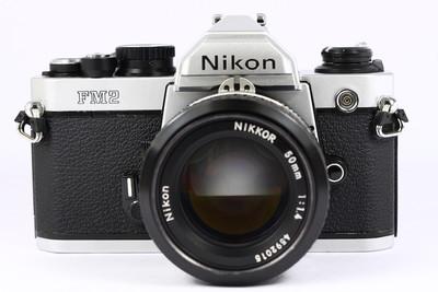 尼康 NIKON FM2 日产135胶片单反相机 + nikkor 50/1.4镜头