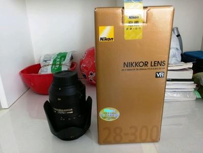 国行尼康 28-300mm f/3.5-5.6G 购买不足半个月