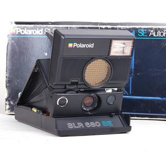 Polaroid宝利来 SLR 680 SE 即拍即有相机 美品带包装 #HK7111